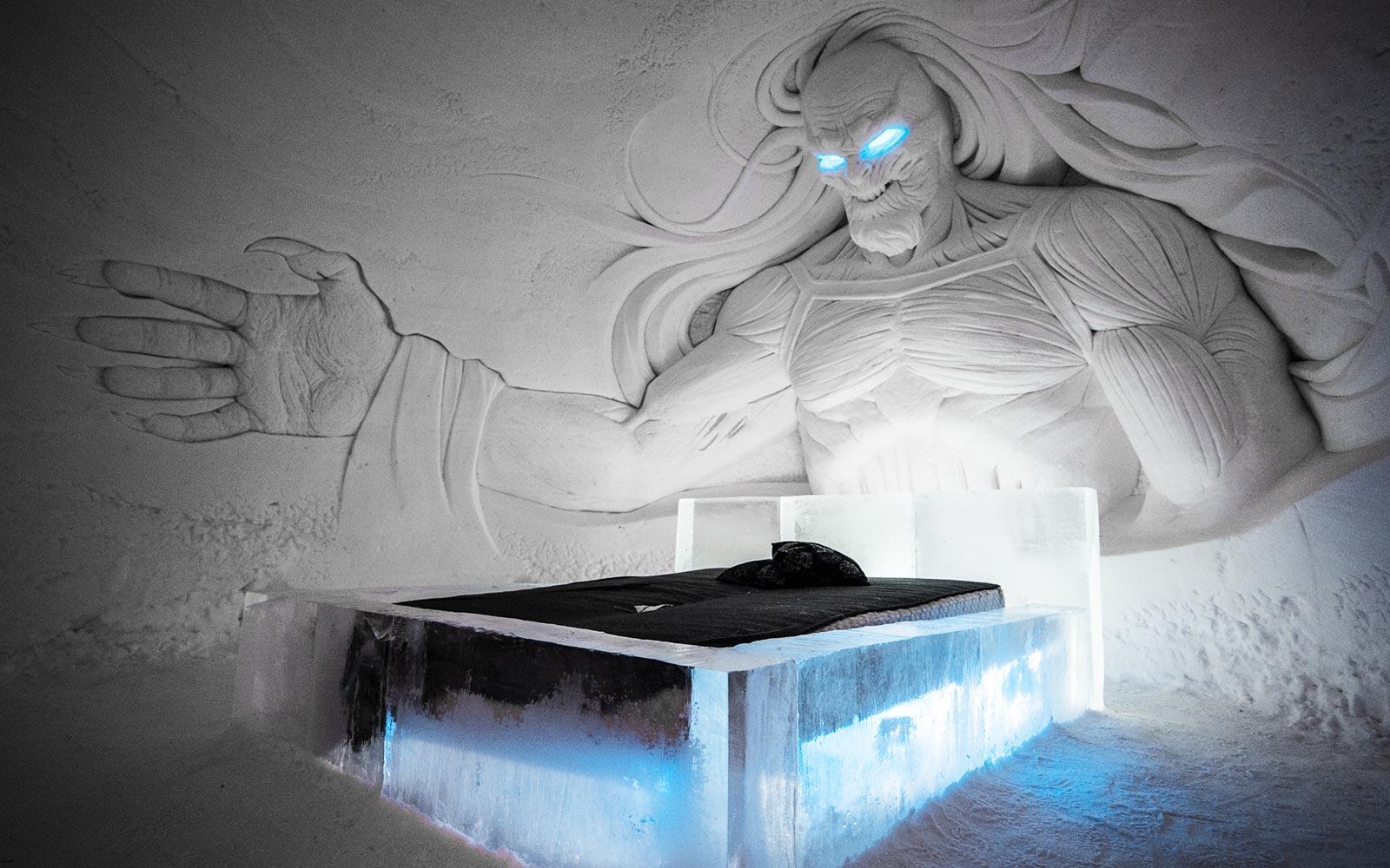 Bedroom Game Of Thrones Ice Hotel Finland Turisticheskoe Agentstvo El Medano Tour Harkov Turisticheskoe Agentstvo El Medano Tur Harkov